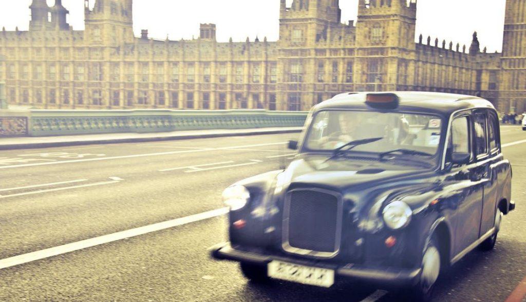 La Londra, taxiurile sunt negre