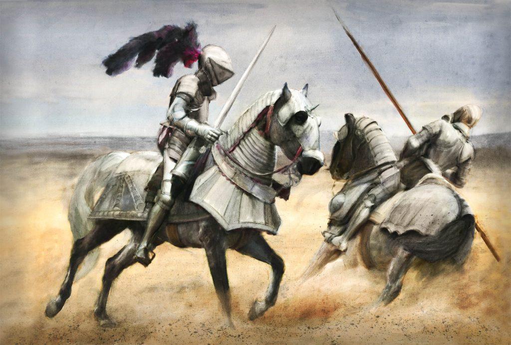 Duel cavaleri