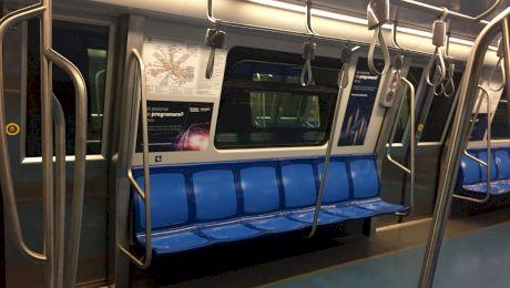 Vagoanele de metrou se dezinfectează?