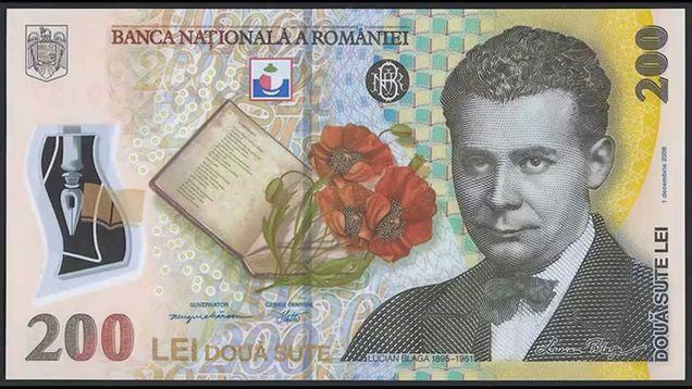 Bancnota de 200 lei