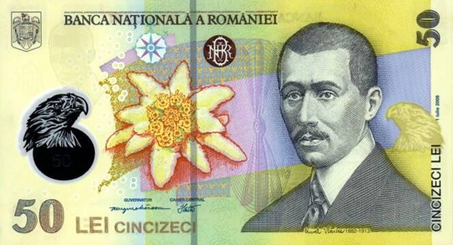 Bancnota de 50 lei