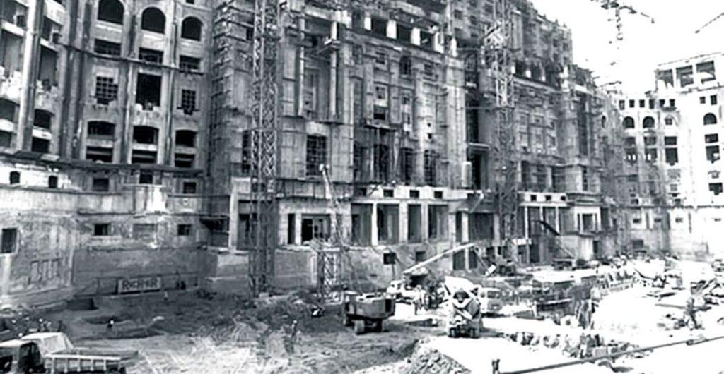 Casa Poporului, in anii '80