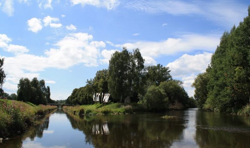 Confluenta râurilor Breg și Brigach