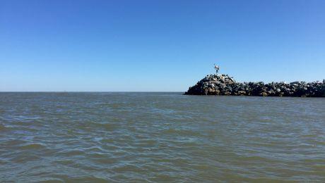 Cum arată locul unde Dunărea se varsă în Marea Neagră?