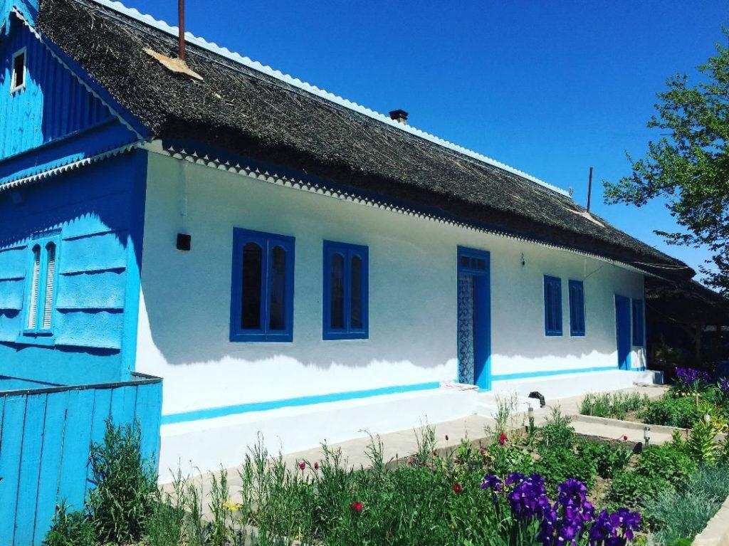 Casă din Delta Dunării, zona Dobrogea
