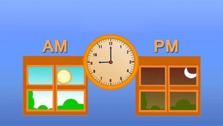 Ce înseamnă AM și PM la ceasuri?
