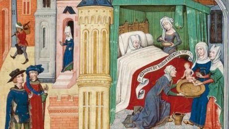 Cum dădeau viață femeile în Evul Mediu? De ce reginele nășteau cu spectatori?