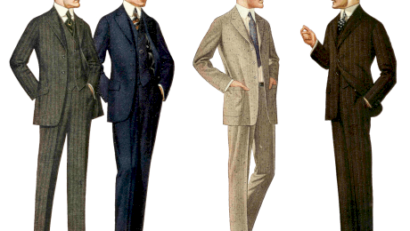 Cum a apărut costumul? De ce bărbații de la 1900 purtau haine în funcție de ora zilei?