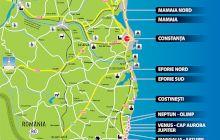 Care este ordinea stațiunilor de pe litoral?