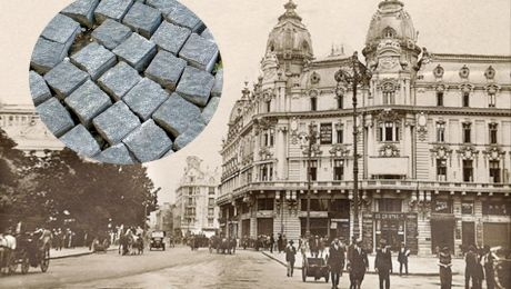 Când au fost construite primele șosele și poduri din România? Care a fost prima stradă pavată din București?