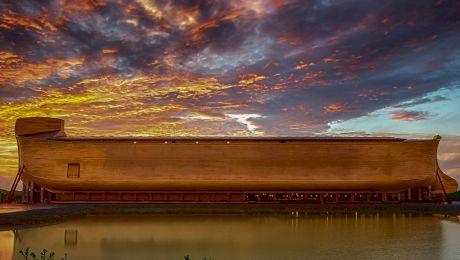 Cum au încăput toate animalele în arca lui Noe?