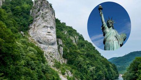 Statuia lui Decebal este mai înaltă decât Statuia Libertății?
