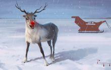 De ce Rudolph, renul lui Moș Crăciun, are nasul roșu?