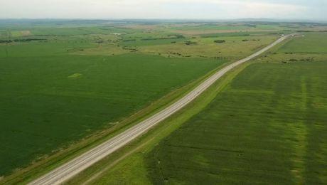Care este cel mai drept drum din România și ce lungime are acesta?