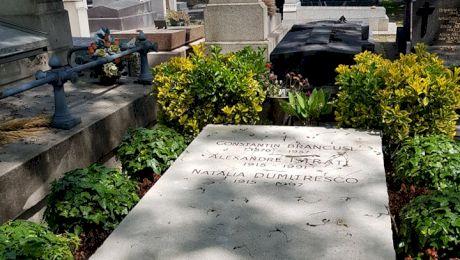 Cine sunt persoanele alături de care este înmormântat Constantin Brâncuși?