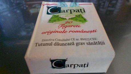 Cu cât se vinde astăzi un pachet de țigări Carpați?