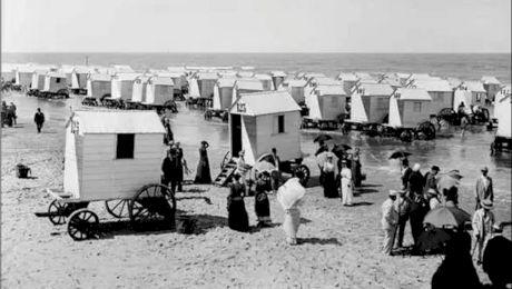 Cum arătau plajele de la Marea Neagră acum 119 de ani?