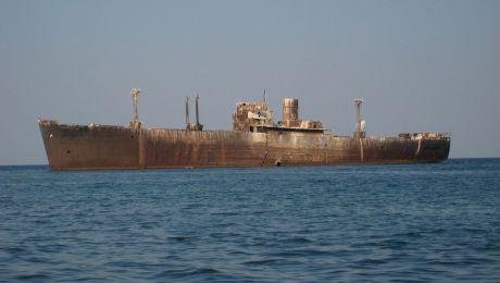 Care este povestea epavei de la Costinești? De ce vasul a eșuat intenționat?