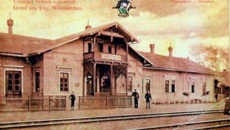 Care este singura gară din România cu peronul la primul etaj?