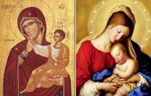 Cum deosebești o icoană catolică de una ortodoxă?