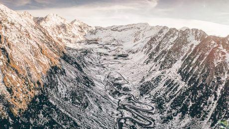 Cum arată Transfăgăraşanul iarna?
