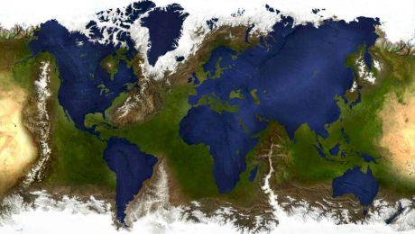 Cum ar arăta lumea dacă în loc de apă ar fi uscat și viceversa? Ce s-ar întâmpla dacă ar dispărea Oceanele?