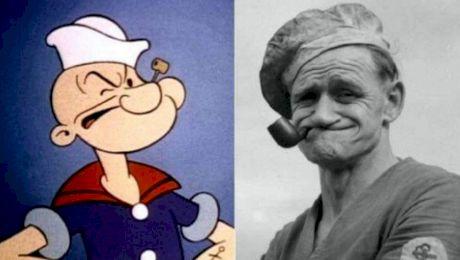 E adevărat că Popeye Marinarul a fost un personaj real? Cum arăta?