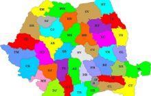 Cum au apărut județele în România?