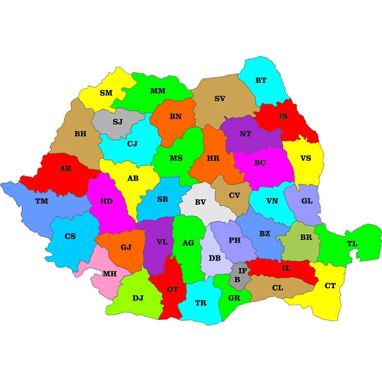 Cum Au Apărut Județele In Romania Cate Judete Sunt In Romania