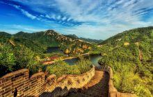 Cum arată locul unde se termină Marele Zid Chinezesc?