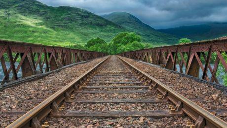 Cum arată cea mai înaltă cale ferată din lume?