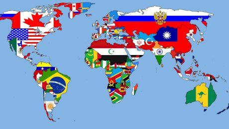 Care este țara cu cei mai mulți vecini? Care sunt țările FĂRĂ VECINI?