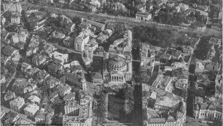 Cum arăta Bucureștiul în anul 1920, pozat din avion?