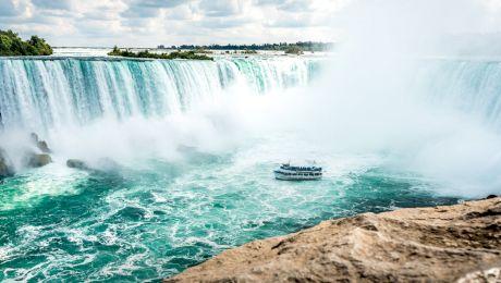 E adevărat că Niagara, celebra cascadă, a rămas fără apă? Cum arăta cascada secată?