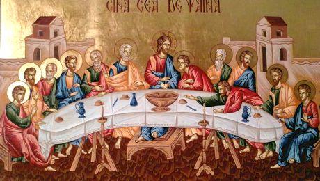 Cine sunt cei 12 apostoli care stau lângă Iisus în Cina cea de Taină?