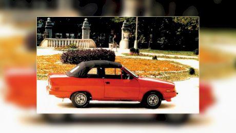 Cum ar fi trebuit să arate Dacia decapotabilă, mașina ce urma să fie fabricată la Oradea?