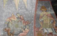 Care este fresca dintr-o biserică din România care anunță apocalipsa?