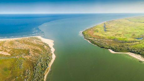 Cum arată Delta Dunării văzută din dronă?