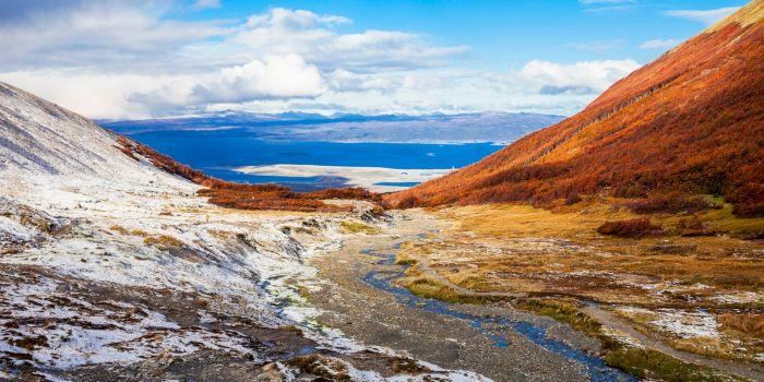 De ce formele de relief din Țara de Foc poartă nume românești? În Argentina există Vârful Sinaia, lacul Broșteni și râul Ureche