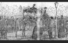 Care este singura imagine de la înmormântarea lui Eminescu?