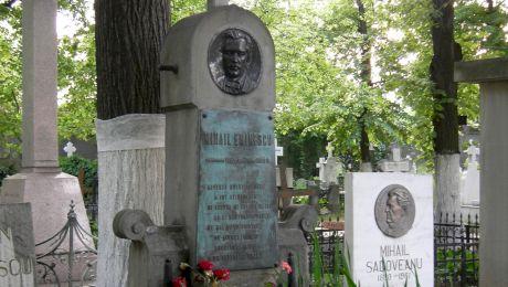Ce epitafuri stau scrise pe mormintele celebrilor scriitori români?