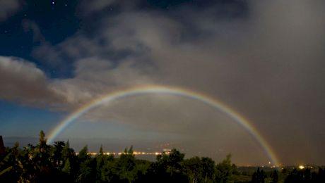 Este adevărat că noaptea poate apărea curcubeul?