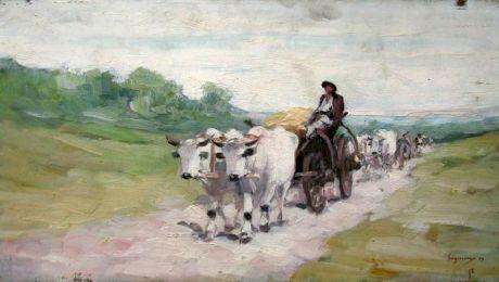 De ce avea o pasiune Nicolae Grigorescu pentru carul cu boi?
