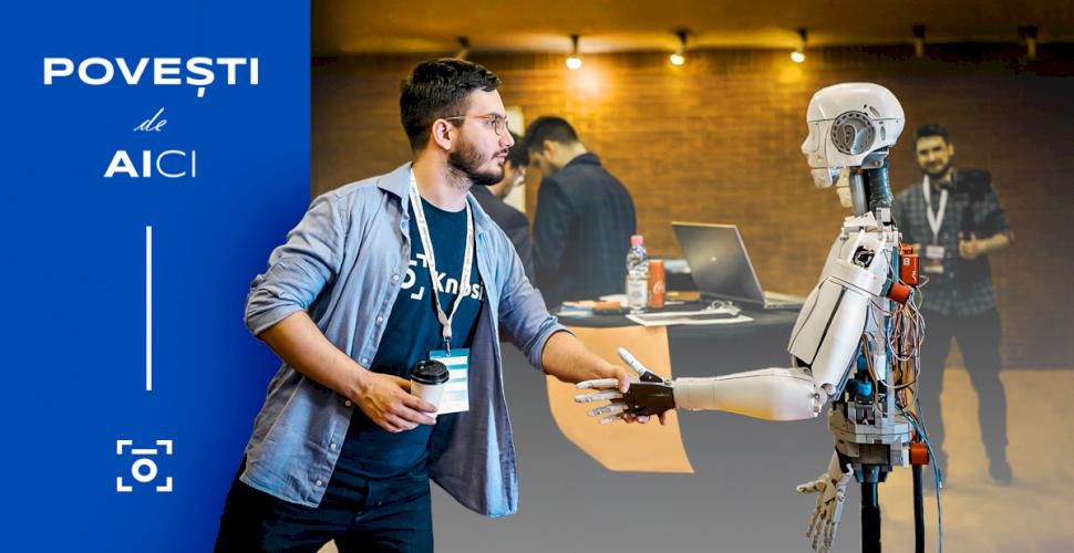 """Start-up-ul KNOSIS.AI obține o investiție și lansează campania de comunicare  """"Povești de AIci"""""""
