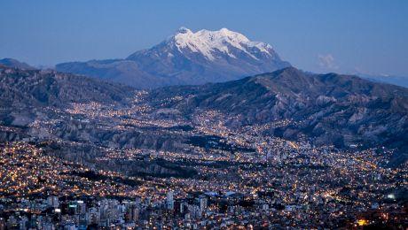 Care este capitala situată la cea mai mare altitudine?