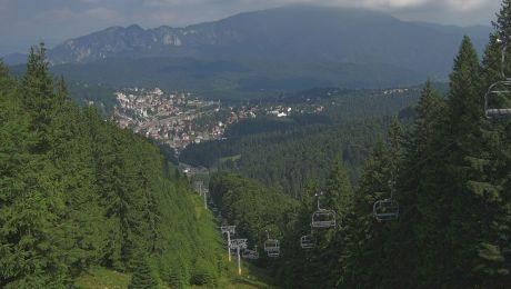 Care este orașul din România situat la cea mai mare altitudine?