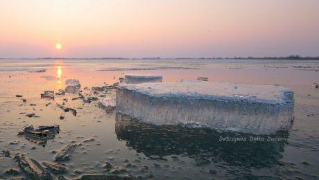 Cum arată iarna Delta Dunării? Ce poți face iarna în Deltă?