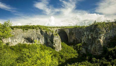 """Cum arată cea mai frumoasă peșteră din Bulgaria unde pot fi văzuți """"Ochii lui Dumnezeu""""?"""