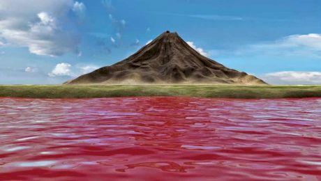 E adevărat că există un lac în apropierea căruia păsările se… mumifică?