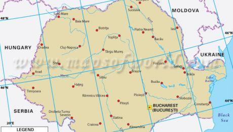 Ce latitudine și longitudine are România? Care sunt consecințele?